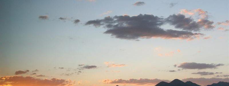 Nice AZ Sunset FHFM